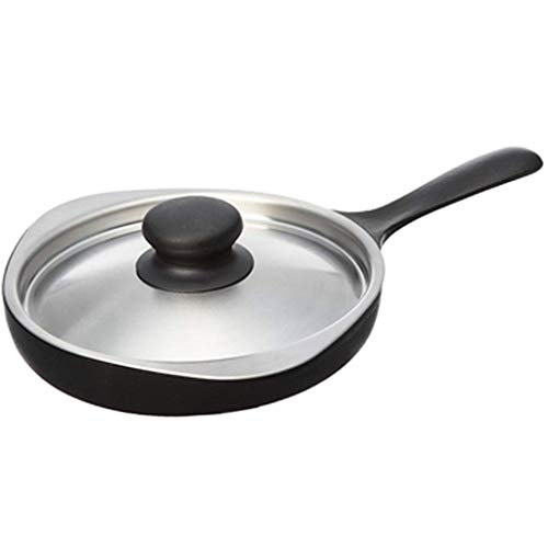 JSMY Chef's Pans Mini Cast Iron Pot Skillet Pan Nonstick Steak and Egg Frying Pan Ironware Creative Kitchen Cookware,Easy to Clean Iron Skillet Universal Multi-Purpose Gas Stove and Induction Cooker