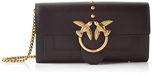 Pinko 1P21SF_Y6JC, Love Wallet Simply 2 C Vitello Donna, Z99_Nero Limousine, U