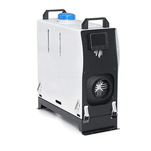 QIAO Calentador de estacionamiento 8KW, Todo en 1 Calentador de camión de 12 V 24 V, una Salida de Aire, para Camiones Autocaravanas...