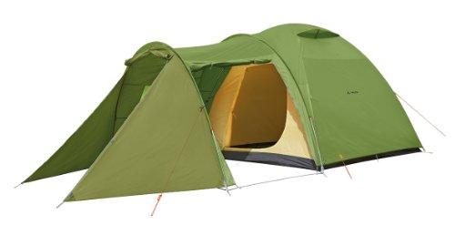 Vaude Campo Casa XT 5 Person Tent Green Chute Green Size:65.00 X 27.00 X 27.00 cm