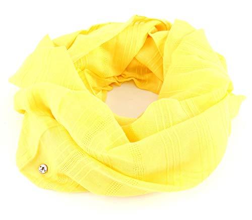 edc by ESPRIT Loop-Schal mit Webstruktur aus 100% Baumwolle