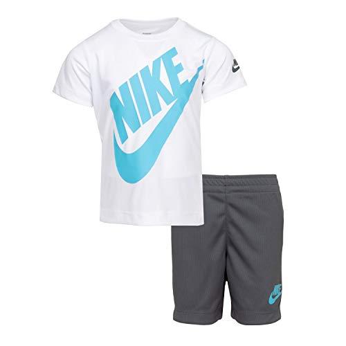 Nike Toddler Boys 2 Piece Swim Shorts and Short Sleeve Shirt