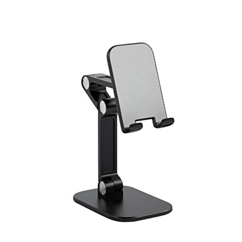 allforyou Titular de teléfono móvil Soporte de Plegado Tableta de Escritorio Ajustable Tablet PC Soporte de Clip de Cama Flexible para iPhone Xiaomi Holder