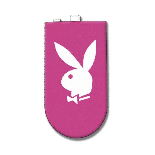 Playboy Lizenzprodukt Pink Handy oder iPod Socke mit Bunny Tex in weiß