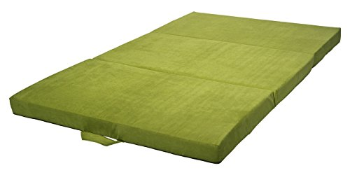 Velinda Klappmatratze Faltmatratze Gästebett Campingmatratze Reisematratze 120x200x10cm (Farbe: grün)
