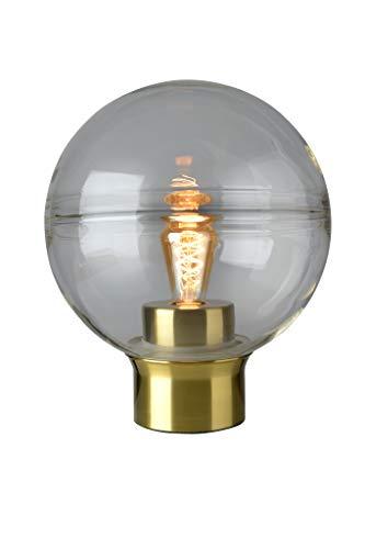 Villeroy&Boch Tokio tafellamp, metaal, 25 W, goud/helder, H 36 cm, Ø 30 cm