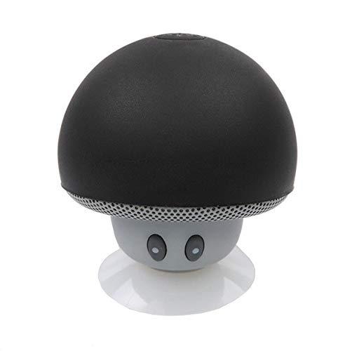 Shot Case Lautsprecher, Pilz, Bluetooth, für Controller Playstation 4, PS4, Smartphone, Saugnapf, Lautsprecher Micro Mini, Schwarz