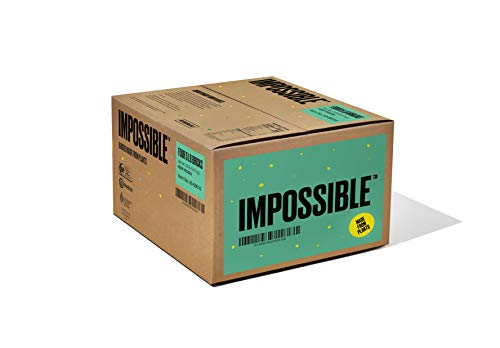 Impossible Burger 2.0 Plant Based Meat Brick 5 lb (Pack of 4)