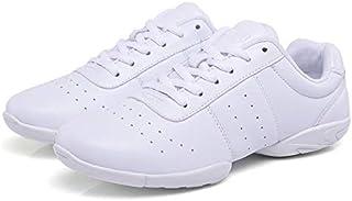 الأحذية الكاجوال Soft Microfiber Leather Non-slip Wear Resistant Sport Sneakers Bodybuilding Gym Shoes, Size:28(White) الأحذية الكاجوال