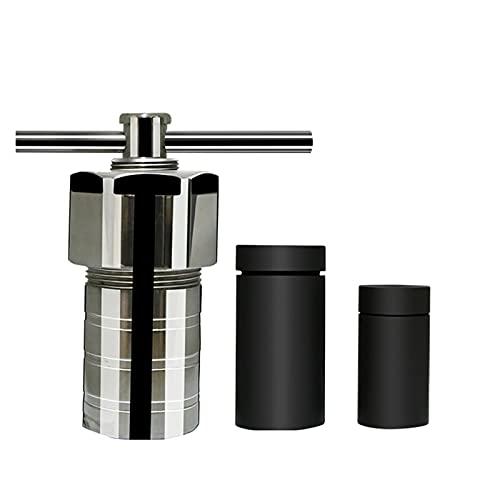 yaohuishanghang Cortador láser 100ml PLARO Reactor de Autoclave de síntesis hidrotértil Forrado 3MPA Tanque de digestión de Alta presión ISO & CE Suministros de Laboratorio máquina CNC