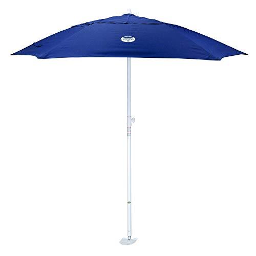dig-git Beach Umbrella w/Integrated Anchor - Navy Blue