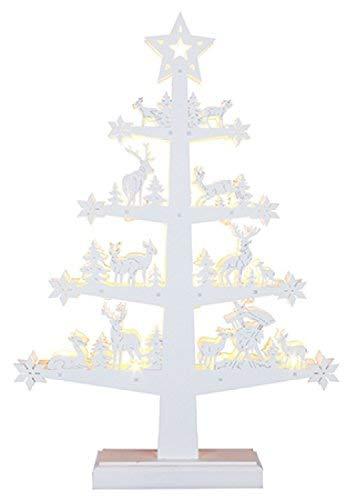 Star 270-54 Fauna Tree-Candelabro, 11 LED, luce bianca calda, 45 x 30 cm