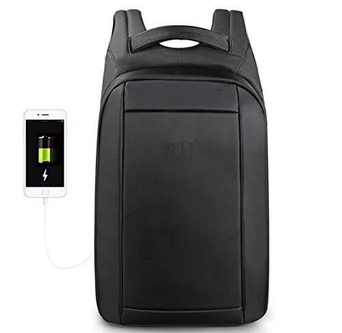 XWDQ Verborgen Anti diefstal Rits 15.6 inch Mannen School Laptop Rugzakken Waterafstotend Reizen 20L Multi USB-oplader