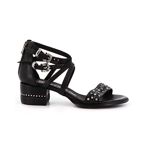 A.S.98 Zapatos Altos Moraine 672007-101 Nero 40