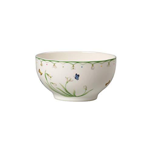 Villeroy & Boch Colourful Spring Bol, Porcelaine Premium, Blanc/Multicolore
