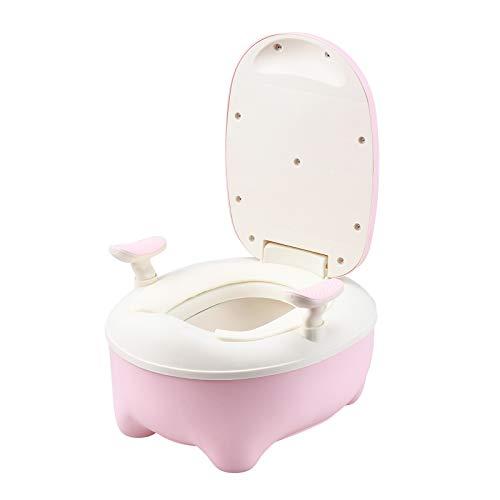ERHETUS Baby-Hocker, für Jungen und Mädchen, Bettpfanne, Urinal, Töpfchensitz mit Bürste und Aufkleber