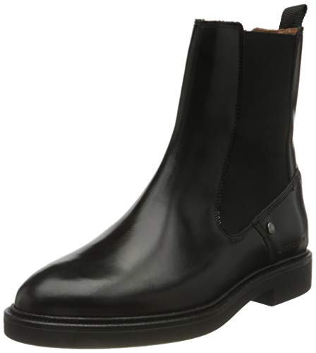 G-STAR RAW Damen Corbel Chelsea Boot, Black, 36 EU
