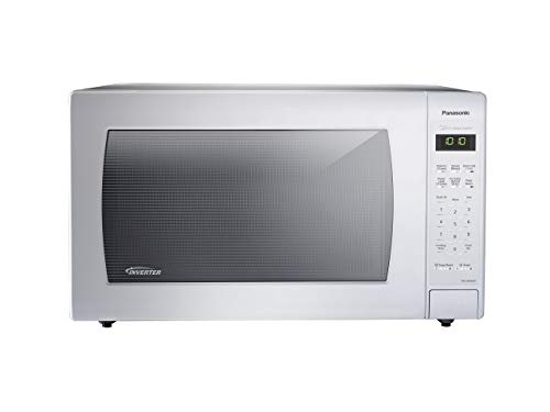 Panasonic NN-SN936W Countertop Microwave with Inverter Technology, 2.2 cu. ft., 1250W, White (Renewed)