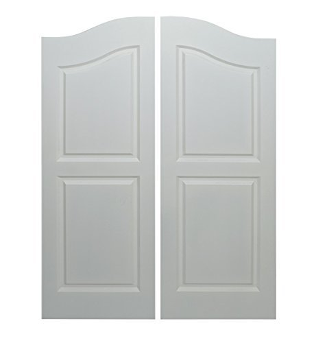 Saloon | Cafe Doors Primed/Quick Shipping! Cafe Doors Include All Necessary Hinges Included- Pick Your Finish (32