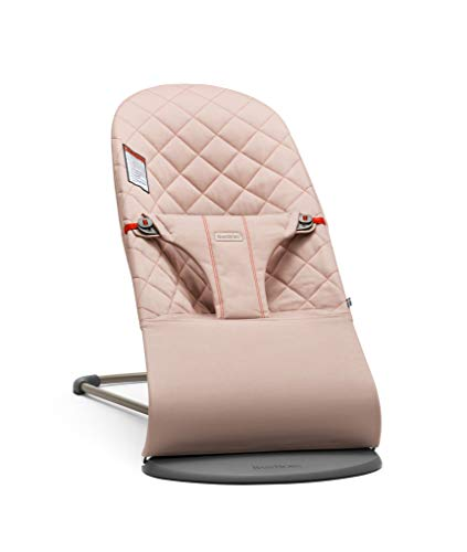 %15 OFF! BABYBJORN Bouncer Bliss, Old Rose, Cotton