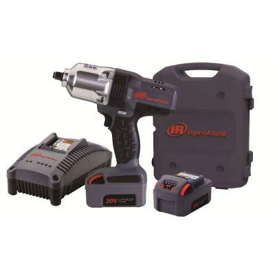 "Ingersoll Rand W7150-K2 1/2"" 20V Hi-Torque Cordless Impact Wrench Kit 2 Batteries 3.0Ah"