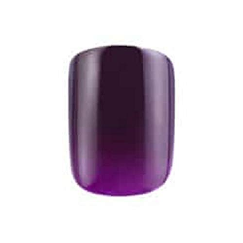 Perfect 10 Faux ongles de couleur améthyste