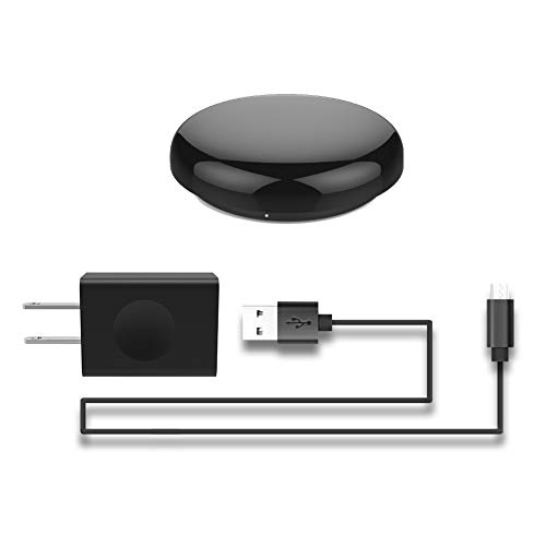 MOES WiFi Smart IR Remote Controller Smart Home Infrared Universal Remote Blaster,One for All Control AC TV DVD CD AUD SAT etc,Compatible with Alexa and Google Home,No Hub Required