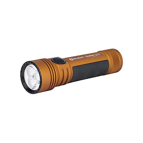 Olight Seeker 2 Pro 3200 lúmenes Tres CREE XP-L HD CW LED...