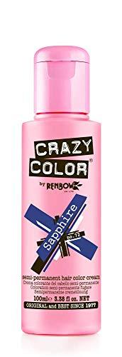 Crazy Color Haartönung 100ml (Sapphire Blue)