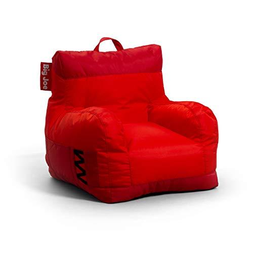Big Joe Dorm 2.0 Beanbag Chair, Two Tone Red