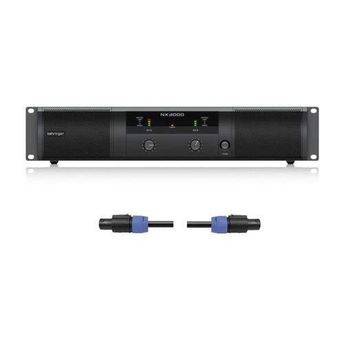 Behringer NX3000 Ultra Lightweight Loudspeaker Compensation