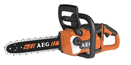 AEG 4935471337 Akku-Kettensäge (18V, Kettenbremse, AVS Seitengriff, automatisches Schmiersystem, Schwertlänge 30 cm) ACS18B30