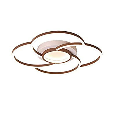 Modern Stylish LED Ceiling Light,Dimmable Thin Ceiling Light Fixture,Easy Install,for Nursery Living Room Restaurant Kitchen Bedroom Balcony Entryway-diameter63 44W