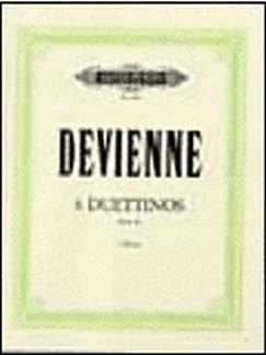 6 DUETTINOS OP 82 - arrangiert für zwei Querflöten [Noten / Sheetmusic] Komponist: DEVIENNE FRANCOIS