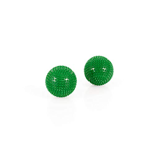 Magnet Akupunktur Akupressur Massage Kugeln   2er Set   Ø ca. 32mm   grün
