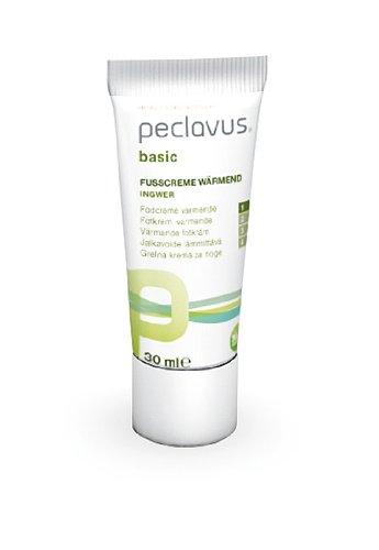 Peclavus Basic wärmende Fußcreme, Wärmender Balsam für den Fuß, 30 ml