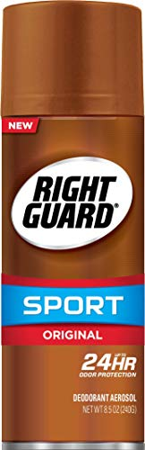 Right Guard Sport Deodorant Aerosol Spray, Original, 8.5 Ounce, Multi (U-BB-1302)