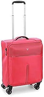 Roncato Blaze trolley bagaglio a mano corallo, perfetto per voli low cost, Misura: 55x40x20 cm, 42 Litri,2 Kg, 4 ruote