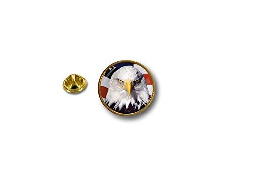 Akacha pin Button pins anstecker Anstecknade Motorrad usa flaggen Flagge Fahne Adler r7