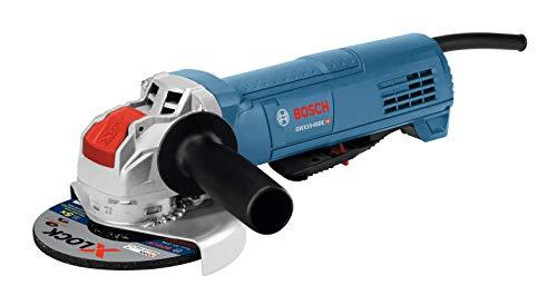 Bosch GWX10-45DE 4-1/2 pulg. X-LOCK Amoladora angular ergonómica sin interruptor de paleta de bloqueo