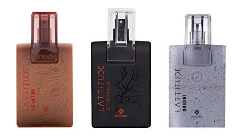 Kit 3x Perfumes Lattitude: Origini/Stamina/Expedition