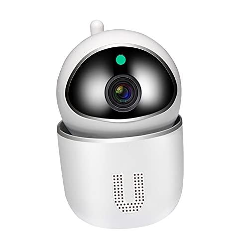 Blesiya Cámara WiFi 1080P Nube IP cámara de Seguridad inalámbrica Auto-Crucero Seguimiento de Movimiento, Inteligente Pan e inclinación - Enchufe de la UE Blanco