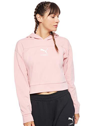 Puma NU-TILITY Bridal - Sudadera con capucha para mujer, color rosa Rosa XL