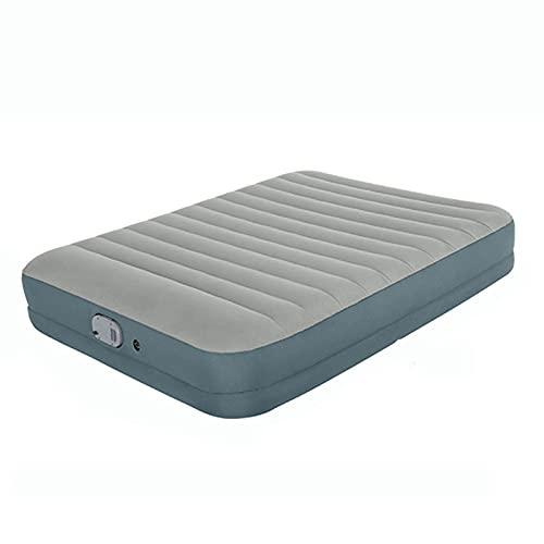 Colchón de aire para SUV, cama inflable para automóvil con bomba de aire y almohada desmontables inteligentes, superficie flocada, almohadilla para dormir para acampar para viajes, carpa para el mal