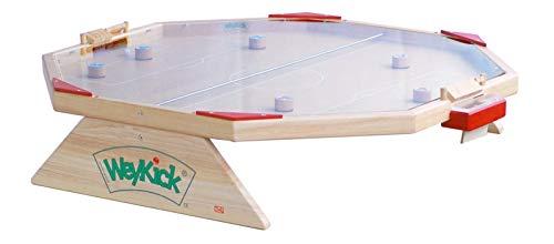 WeyKick Arena Fix 7700A Magnetfußball 2-6 Spielerinnen / Spielfläche: 82x88 cm mit Plexigalsabdeckung / 6 Fußballspieler m. Führungsmagnet