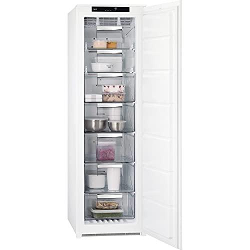 AEG ABE818F6NS Congelador Vertical Integrable, 177 cm, NoFrost, FrostMatic, Display LCD Táctil, Inverter, 5 cajones, Técnica arrastre, Clase F