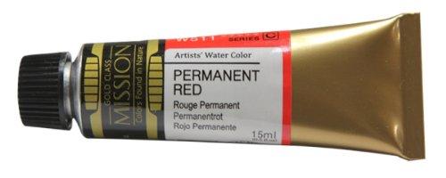 Mijello Mission Gold Water Color, 15ml, Permanent Red