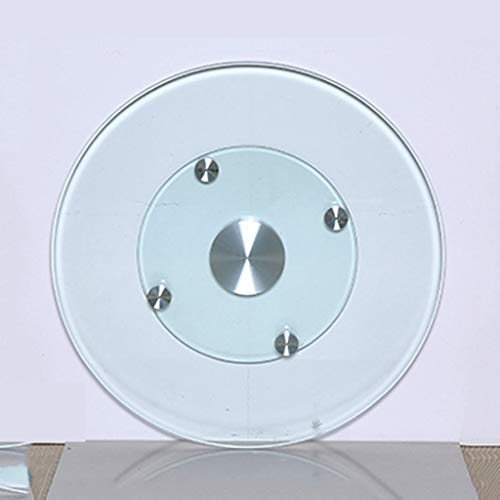 Household Dining Table Glass Turntable Glass Turntable Display Stand Round Aluminum-based Glass Turntable, Thickness: 10 / 12mm, Diameter: 70cm-120cm