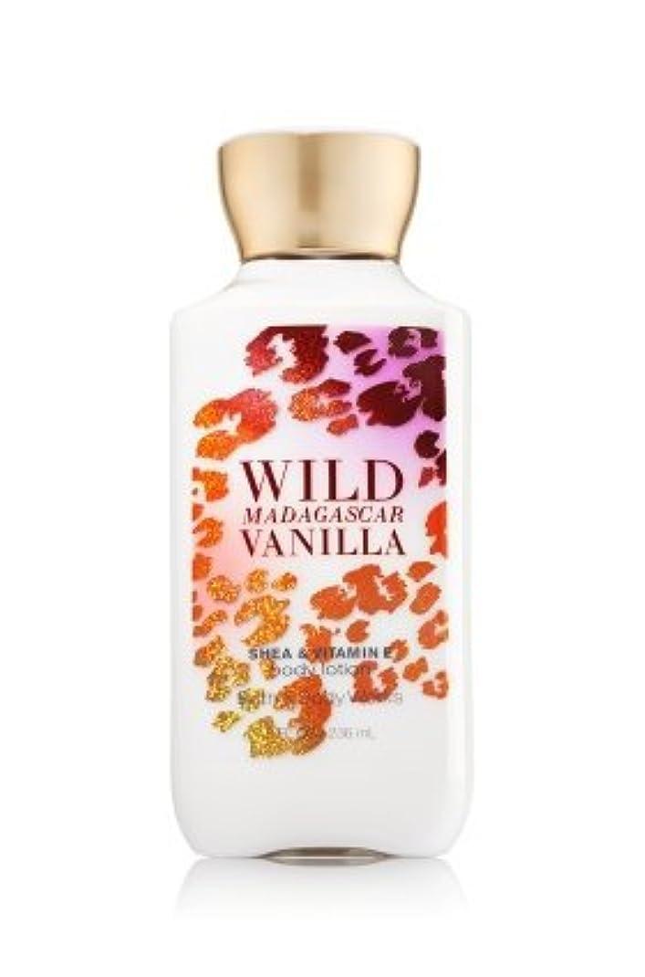 リネン困惑するバラエティBath & Body Works Wild Madagascar Vanilla Body Lotion 8 Fl Oz. [並行輸入品]