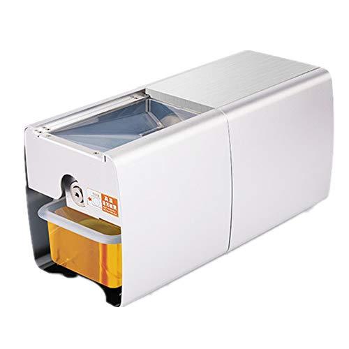 QWERTOUY Máquina de extracción de Aceite de Cacahuete de Acero Inoxidable Máquina de...